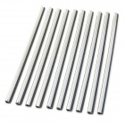 Car Air Conditioner Vent Aluminum DIY Sticker Strips - Silver (10 PCS)