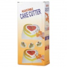 Triangle Shape Adjustable Plastic Cake Cutter - Yellow