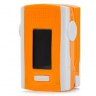 "1.2 ""LCD Digital Clip-On Fingerpuls Syre / Blood Oximeter w / Larm - Orange + Vit (2 x AAA)"