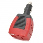 75W Car DC12V to AC220V Power Inverter with USB Port - Red + Black