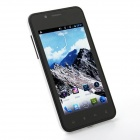 "820 Android 4.1.1 WCDMA Smartphone w/ 4.0"" Capacitive Screen, Wi-Fi and GPS - Black + White"