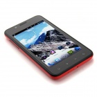 "820 Android 4.1.1 WCDMA Smartphone w/ 4.0"" Capacitive Screen, Wi-Fi and GPS - Black + Red"