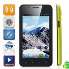 """820 Android 4.1.1 WCDMA Smartphone w/ 4.0"""" Capacitive Screen, Wi-Fi and GPS - Black + Yellow"""