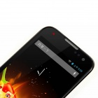 "Beidou LA-M1 Android 4.1.2 WCDMA Quad-Core Bar Phone w/ 4.5"" Capacitive Screen, GPS - Black + White"