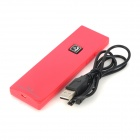 TK3 Radiation Protection Wireless Bluetooth Handset Receiver with Microphone - Red