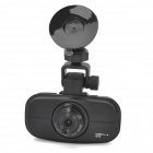 "GS900 Full-HD 1080P 2.7"" TFT 5.0MP CMOS Wide Angle Car DVR w/ Night Vision - Black"