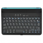 BT20730 Wireless BluetoothV3.0 59 Keys Keyboard for iPad Mini - Black + Silver + Blue