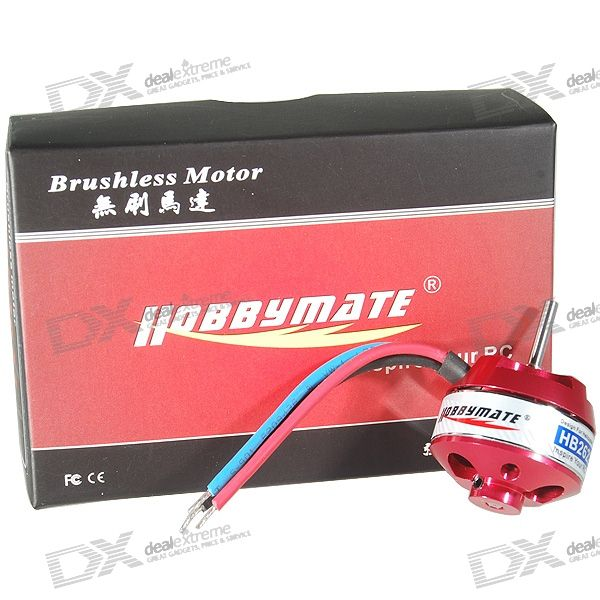 Hobbymate HB2622 5000KV Brushless Motor for 200/300 Helicopters