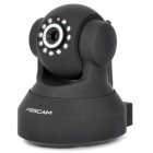 Foscam FI8918W 1/3 CMOS 300KP Wireless Wi-Fi IP Network Camera w/ 11-IR LED Night Vision - Black