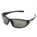 Bahu 2090 UV400 Protection Cycling Polarized PC Frame Resin Lens Sunglasses - Black