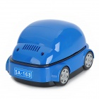 SA168 Car Shape Car Smokeless Ashtray - Blue (2 x AA / USB Power)