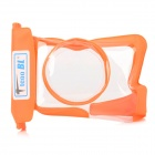 Tteoobi T-015M Protective TPU Waterproof Bag w/ Strap for S / M Camera - Orange