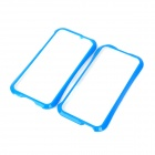 NEWTOP Protective Plastic Bumper Frame for iPhone 5 - Blue