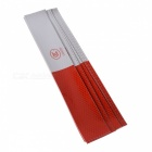 YB032101 Reflective Car Body Marking Stickers - Silver + Red