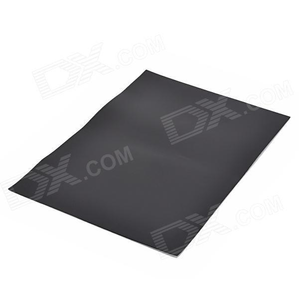 A4 Flexible Magnetic Sheet - BlackMagnets Gadgets<br>ModelNQuantity1MaterialMagneticPacking List<br>