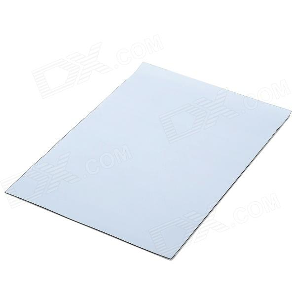 A4 Flexible Magnetic Sheet - White + Black