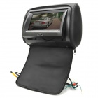 "7.0"" LCD Screen Car DVD Headset Monitor w/ Remote Controller / SD / AV-In / FM Transmitter - Black"