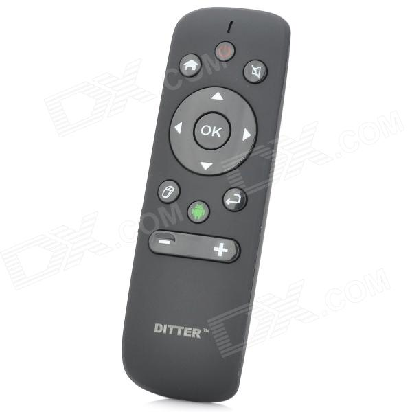 DITTER M5 Wireless 6-Axis Optical 2400dpi Air Mouse - Black (2 x AAA)