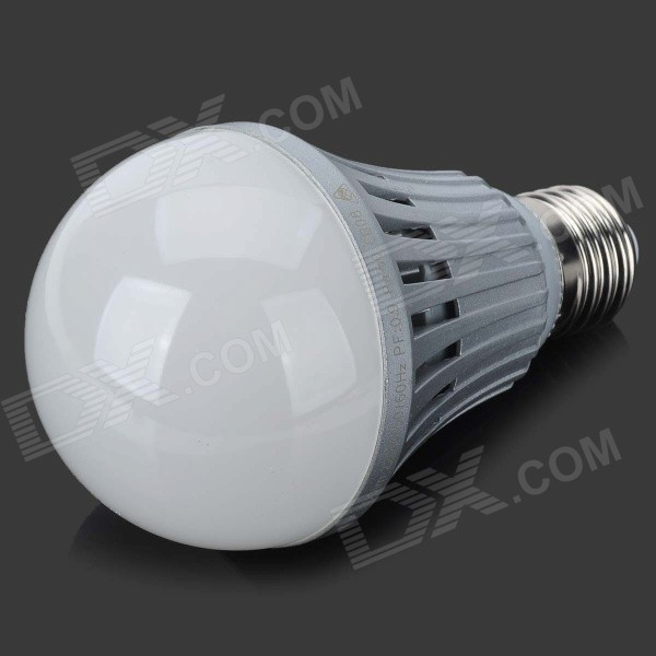 Firi-HBL13 E27 13W 1080lm 3300K 28-LED Warm White Lamp - Silver + White