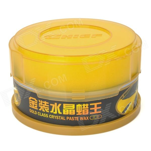 CHIEF Car Coating Crystal Wax Paste - Light Yellow (140g)