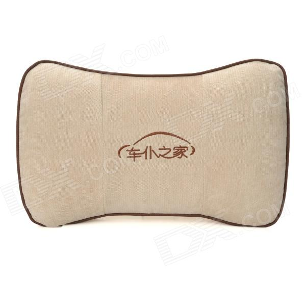 CHIEF JPNJ-003 Vehicle Car Waist Rest Cushion Pillow - Beige