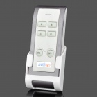 Serika Mini Series 3-CH 4-Section Smart Star Edition Digital Remote-Control Switch - White