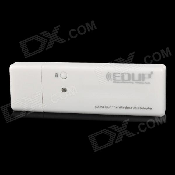 EDUP EP-9503 300Mbps TCL inteligente Android 4.0 TV Wireless USB 2.0 tarjeta de red - Blanco