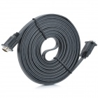 VGA Male to Male Connection Cable for Video & Digital Graphics - Black (500cm)