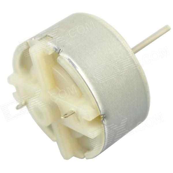 1S500 5500RPM DC Motor - Silver (DC 12V / 2 PCS) mpx010 high speed 18000rpm coreless motors silver dc 3v 2 pcs