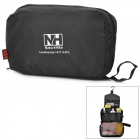 NatureHike Oxford Fabric Travel Camping Toilet Articles Wash Bag - Black