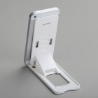 Plastic Desktop Stand Holder for Cell Phones - White