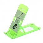 Plastic Desktop Stand Holder for Cell Phones - Green