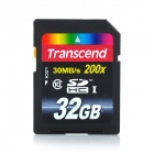 Transcend SDHC Class 10 UHS-I (Ultimate) SD Card - Blue (32GB)