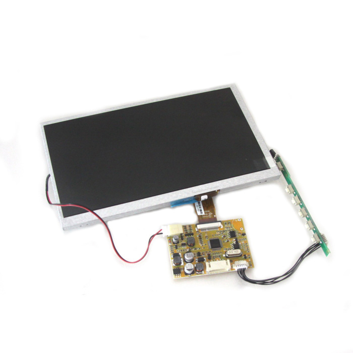 2-Channel Video Input 7 TFT LCD Display Monitor Module (NTSC / PAL) wired video door phone new 7inch color tft lcd monitor screen video doorphone touch button outside panel of video intercom black