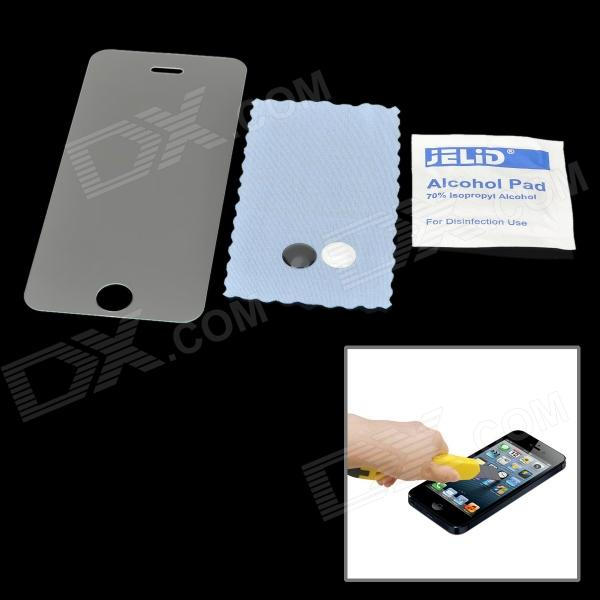 Screen Guard verre trempé avant de protection pour iPhone 5 - Transparent