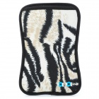 JJ103 Protective Neoprene Pouch for Samsung i9220 - Black + Off-white