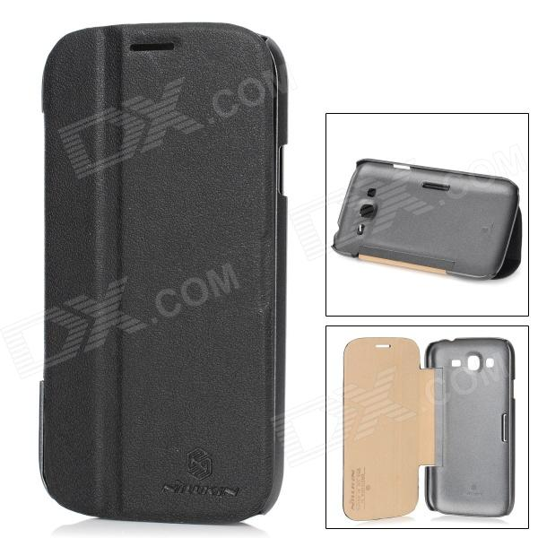 все цены на NILLKIN Protective PU Leather + PC Case for Samsung Galaxy Grand Duos i9082 - Black