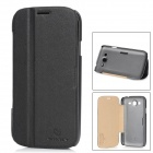 NILLKIN Protective PU Leather + PC Case for Samsung Galaxy Grand Duos i9082 - Black