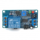 5V High / Low Dual-Functional Level Trigger Delay Switch Module - Blue