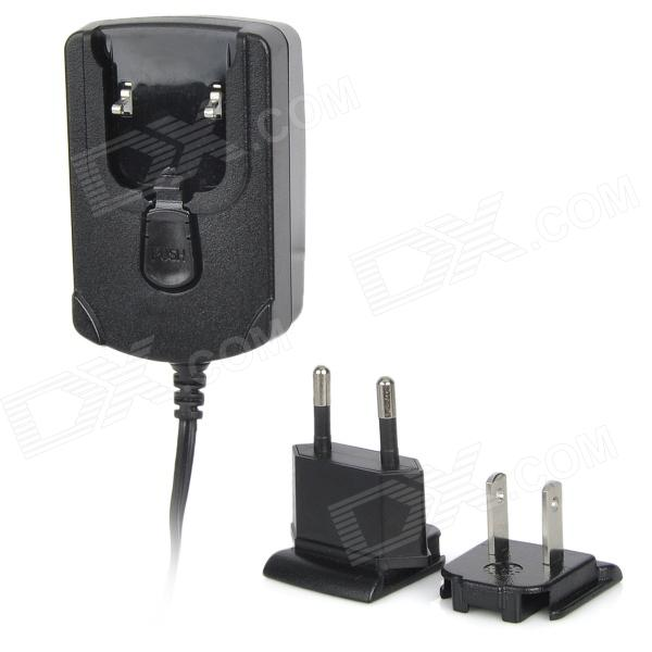 DY003 AC Power Charger Adapter for 2.4V~12V Ni-MH / NiCd Battery Pack - Black (US Plug + EU Plug)