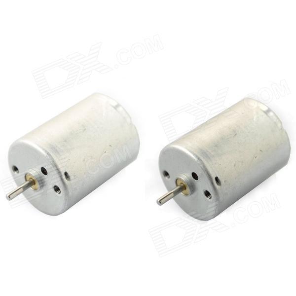 1S370 5500RPM DC Motor - Silver (DC 12V / 2 PCS) new original pneumatic axis cylinder tr10x25s