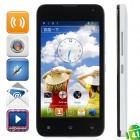 "LOGO Z105 Android 4.1 Dual Core Bar GSM Phone w / 4,4 ""Kapazitive Bildschirm, Wi-Fi, Quad-Band - Weiß"