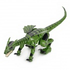 6-CH IR Remote Control Dragon Model Toy - Green