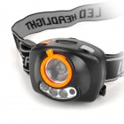 Super Tiger 120lm LED White + Red LED 3-Mode Zooming Induction Headlamp w/ Cree XP-E R2