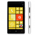 "Nokia 820 Windows Phone 8 WCDMA Bar Phone w/ 4.3"" Capacitive Screen, Wi-Fi and GPS - White + Black"