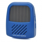 Solar Mosquitoes Cockroaches Pest Driving Device - Blue + White