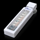 MINGLE G590 Refrigerator Thermometer w/ Suction Cup - White