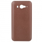 Protective Plastic Back Case + Water Resistant Pouch for Xiaomi M2 - Brown