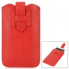 Protective PU Leather Pouch Case for Samsung Galaxy Note II N7100 / Galaxy Note i9220 - Red