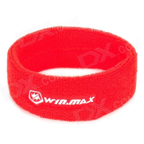 WINMAX WMY17087 Sport Cotton Fiber Towel Head Band - Red beko wmy 91443 lb1